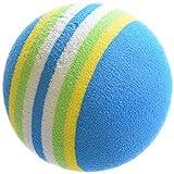 ゴルフ 練習 ボール 100球 セット 青色【室内練習等】