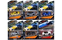 "NEW DIECAST TOYS CAR MAISTO 1:64 EXOTICS 2016 ""C"" ASSORTMENT SET OF 6 15494-16C"