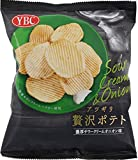 ヤマザキビスケット アツギリ贅沢ポテト濃厚サワークリームオニオン 60g×12袋