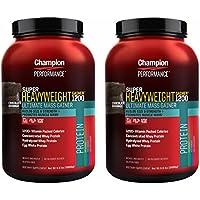 【2個セット】 Champion Nutrition チャンピオンニュートリション スーパーヘビーウエイトゲイナー 3kg [海外直送品] (チョコレート)