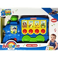 Toy Music Train with Music and Sounds in Blue [並行輸入品]