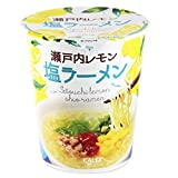 カルディオリジナル 瀬戸内レモン 塩ラーメン 64g×3個セット 即席カップ麺