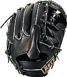 ZETT(ゼット) 硬式野球 プロステイタス グラブ (グローブ) ピッチャー用 ブラック(1900) 右投げ用 日本製 BPROG110