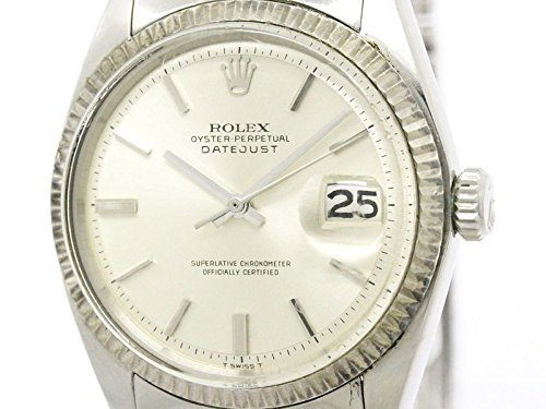 [ロレックス]ROLEXロレックス デイトジャスト 1601 ホワイトゴールド ステンレススチール 自動巻き メンズ 時計1601(BF305244)[中古]