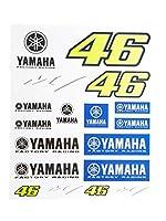 【 MOTO GP 】 バレンティーノ・ロッシ ヤマハ ファクトリーレーシング オフィシャル ステッカーセット