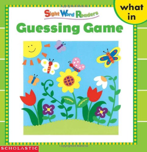 Guessing Game (Sight Word Library)の詳細を見る