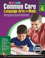 Common Core Math and Language Arts, Grade 4 (Spectrum)