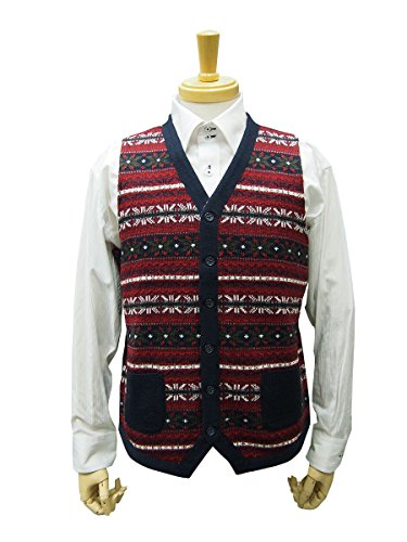 [해외](정장 숍 KAN) 추동 물 니트 베스트 울 혼방/(Suit Shop KAN) Autumn-Winter Item Knit Best Wool Mix
