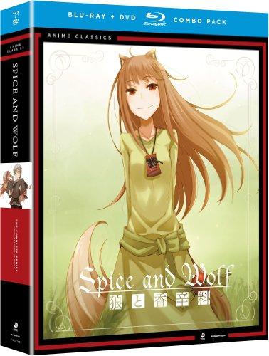 狼と香辛料: コンプリート・シリーズ 廉価版 北米版 / Spice & Wolf: Season 1-2 Complete Series [Blu-ray+DVD] [Import]