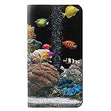 JPW0226NX6 水族館 Aquarium Huawei Nexus 6P フリップケース