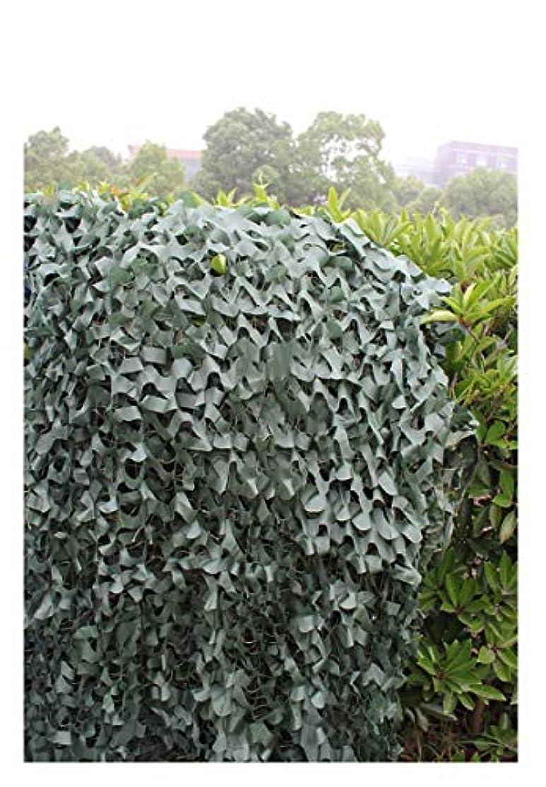 記念アナリストビデオ遮光ネット迷彩ネット ピュアグリーンカモフラージュネット、ウッドランドカモフラージュネットキャンプアーミーハンティング 屋外の日陰の庭に適しています (Size : 6*8m)