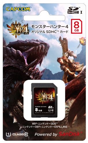 モンスターハンター4 オリジナル SDHCカード (8GB)...