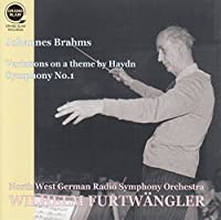 ブラームス : ハイドンの主題による変奏曲 | 交響曲 第1番 (Johannes Brahms : Variation on a theme by Haydn | Symphony No.1 / Wilhelm Furtwangler | North West German Radio Symphony Orchestra) [Live Recording]