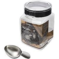フレッシュロック コーヒー 計量スプーン付き コーヒー豆 保存容器 1.1L