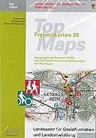 Baden-Wuerttemberg. DVD-ROM TopMaps F25. Kartendaten zum Viewer: Topographische Karten 1 : 25 000 mit Freizeitinformationen, Wanderwegen und Radwegen