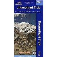 Buthan: Jhomolhari Trek Map (BT501) [並行輸入品]