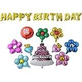 大きい ジャンボ バルーン 風船 セット 祝 誕生日 飾り付け デコレーション プレゼント 祝い