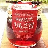 福島県飯坂町菱沼農園のりんごだけで作った「りんご蜜」100g×2個【送料込】