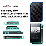 Fullbody frontbacksideスクリーンプロテクターfor Astell & Kern ak240音楽プレーヤー、アンチグレアマットスクリーンプロテクターLCD..