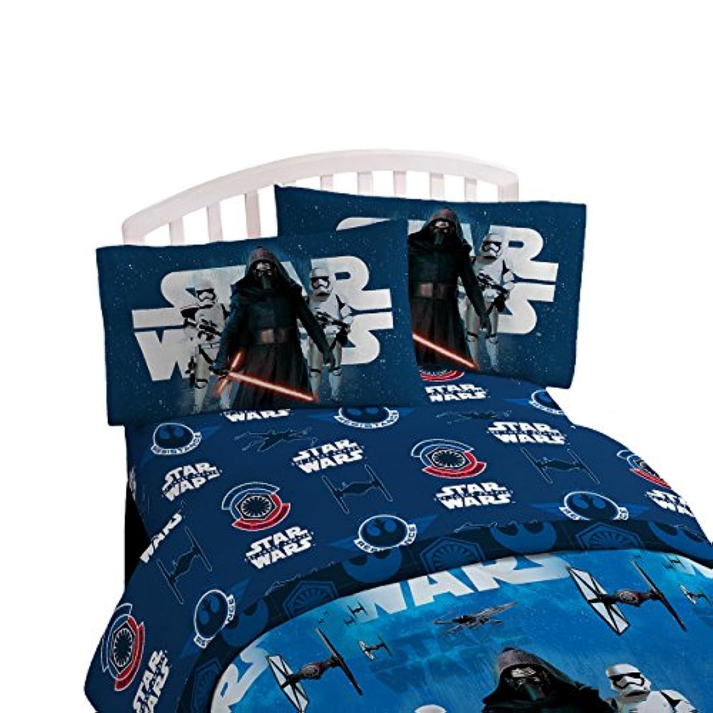 [スター ? ウォーズ]Star Wars Ep7 Force Awakens 3 Piece Twin Sheet Set JF26521CD [並行輸入品]