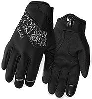 Giro Candela Bike Glove Black Size M 2017 Full Finger Bike Gloves