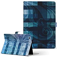 HUAWEI MediaPad M3 Huawei ファーウェイ メディアパッド タブレット 手帳型 タブレットケース タブレットカバー カバー レザー ケース 手帳タイプ フリップ ダイアリー 二つ折り その他 青 デザイン m3-000307-tb