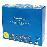 ナノブロック ミニポケモンシリーズ02 NBMPM_02SBOX商品 1BOX = 12個入り、全12種類