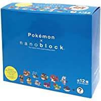 ナノブロック ミニポケモンシリーズ02 NBMPM_02S BOX商品 1BOX = 12個入り、全12種類