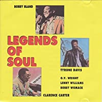 Legends of Soul, Feat. Bobby Bland, Tyrone Davis & Clarence Carter