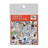 ポケモンセンターオリジナル アソートシール Contents of Trainer's bag RD