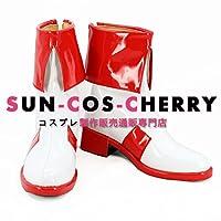 【サイズ選択可】コスプレ靴 ブーツ K-2392 新世紀GPXサイバーフォーミュラ SIN版 菅生あすか 男性25.5CM