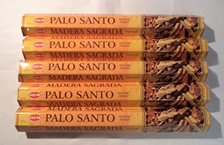 バッジアサー申し込むHEM お香 パロサント 聖なる木100本入り 20本入りx5箱