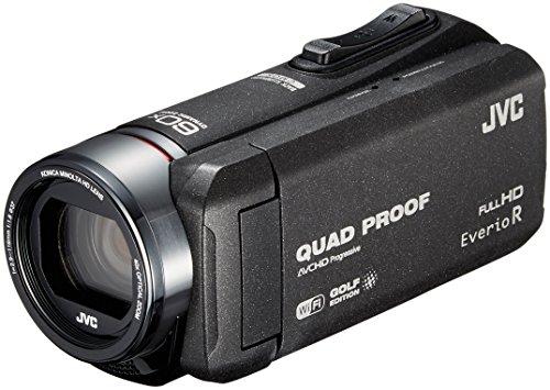 JVCKENWOOD JVC ビデオカメラ Everio R スポーツ ゴルフ 防水 防塵 32GB ブラック GZ-GX100-B