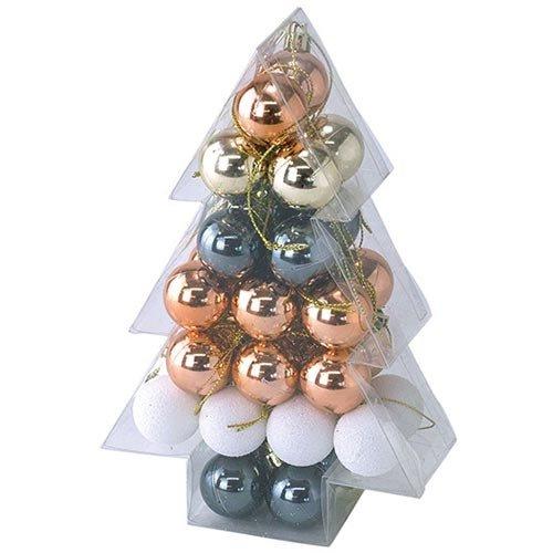 スパイス クリスマス パーティー オーナメント ミニボール3...