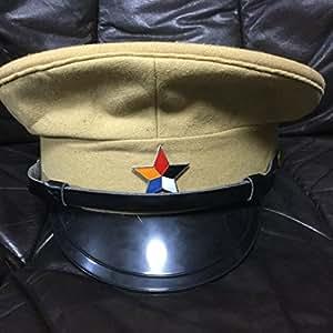 中国軍閥 軍帽 汪兆銘 国民党軍 レプリカ 旧日本軍 (59)