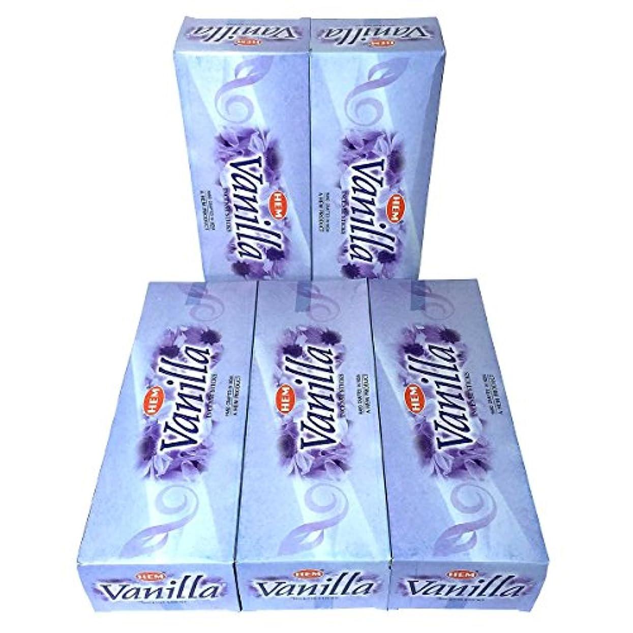 スラックシーサイドアフリカHEM バニラ香 スティック 5BOX(30箱)/HEM VANILLA/ インド香 / 送料無料 [並行輸入品]
