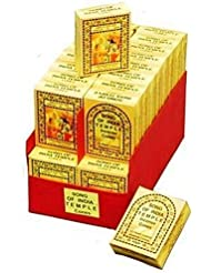 Song of India India Temple Incense - Cones - 5 Boxes(25/bx) by Song of India