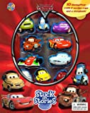 海外直輸入 カーズ 大人気 未発売 正規品 レア フィギュア フィギア 飛行機 クリスマス おもちゃ Disney Pixar Cars 2 Stuck on Stories Build a Book【JOY】