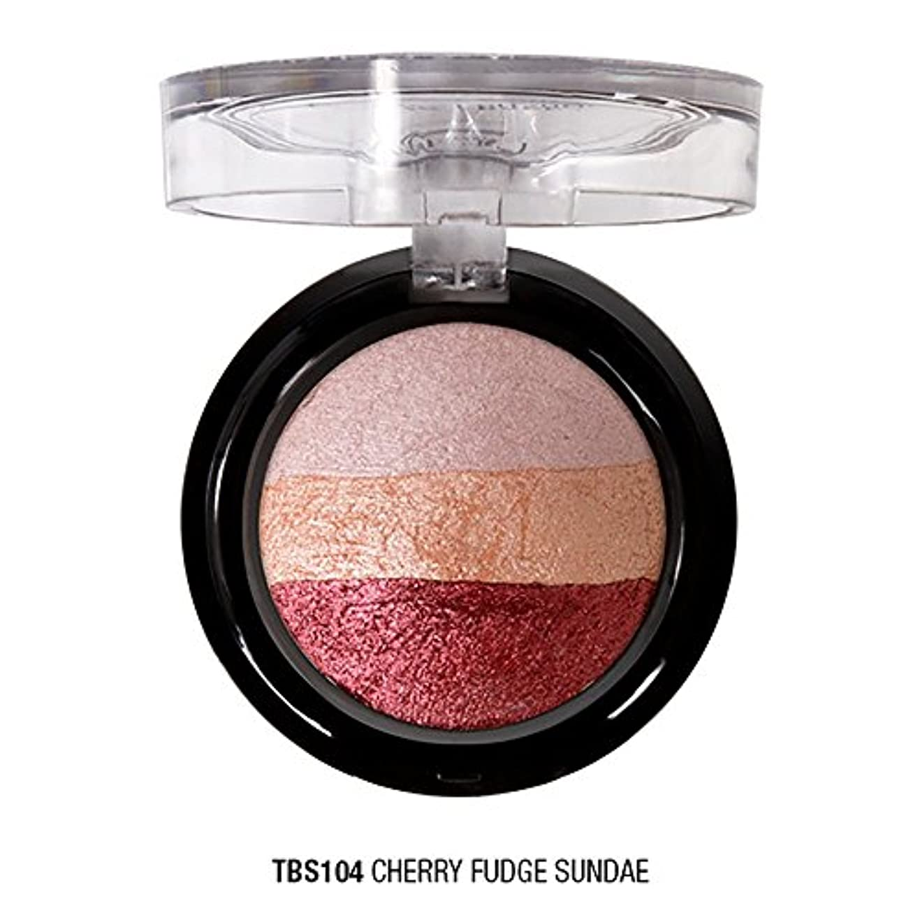 J. CAT BEAUTY Triple Crown Baked Shadow - Cherry Fudge Sundae (並行輸入品)