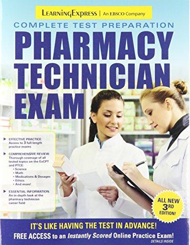Download Pharmacy Technician Exam 161103079X