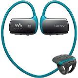 ソニー ヘッドホン一体型ウォークマン Wシリーズ NW-WS615 : 16GB スポーツ用 防水/Bluetooth対応 リングタイプリモコン付属 ブルー NW-WS615 L