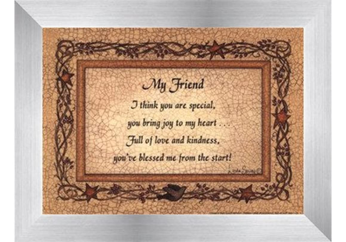 My Friend by Linda Spivey – 7 x 5インチ – アートプリントポスター LE_160935-F9935-7x5