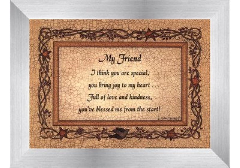 任命する捧げるメディカルMy Friend by Linda Spivey – 7 x 5インチ – アートプリントポスター LE_160935-F9935-7x5