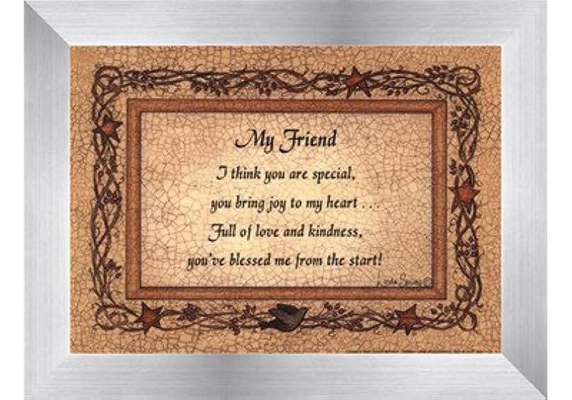 エンターテインメントプログラム音楽My Friend by Linda Spivey – 7 x 5インチ – アートプリントポスター LE_160935-F9935-7x5