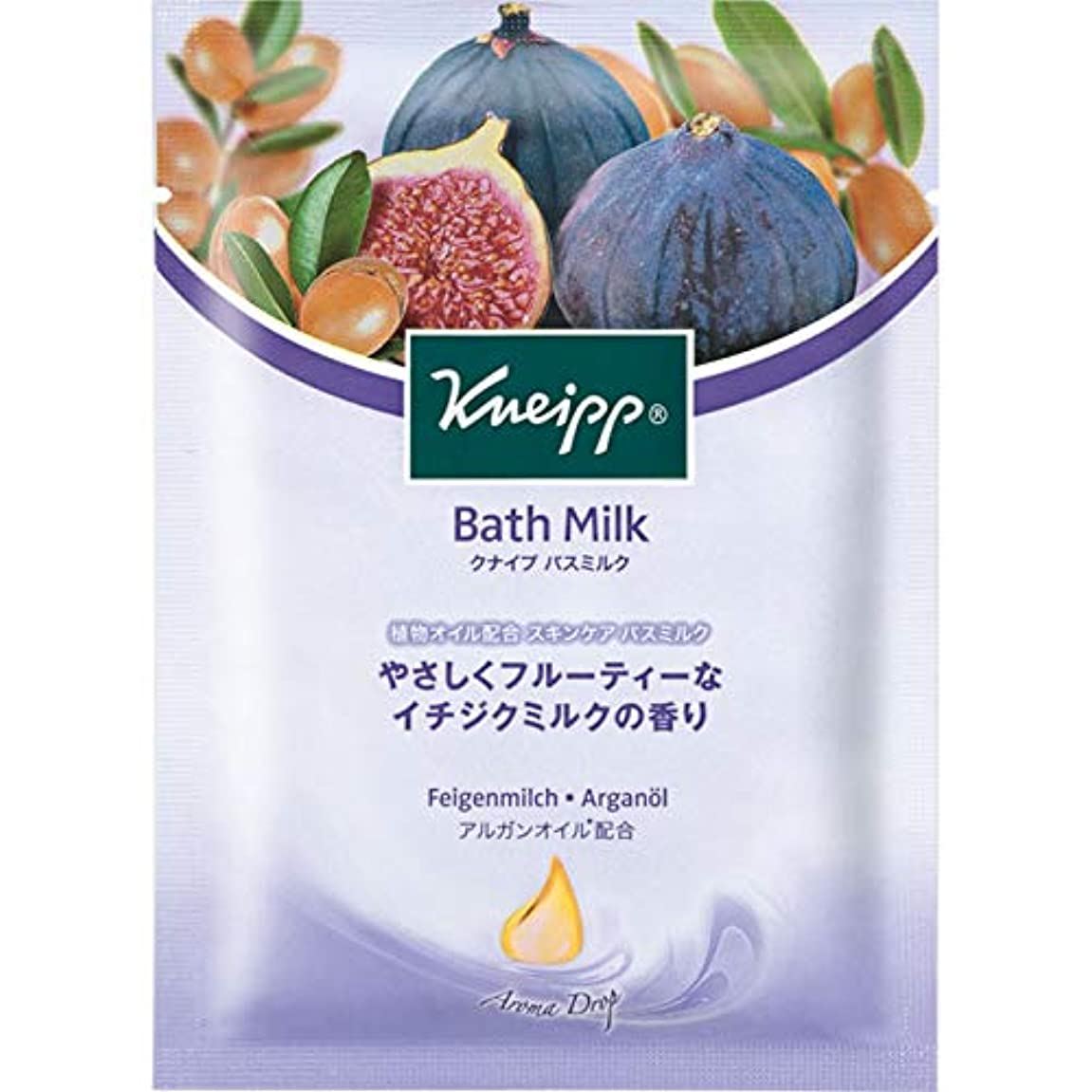 気付く印象派肝クナイプ?ジャパン クナイプ バスミルク イチジクミルク 40ml