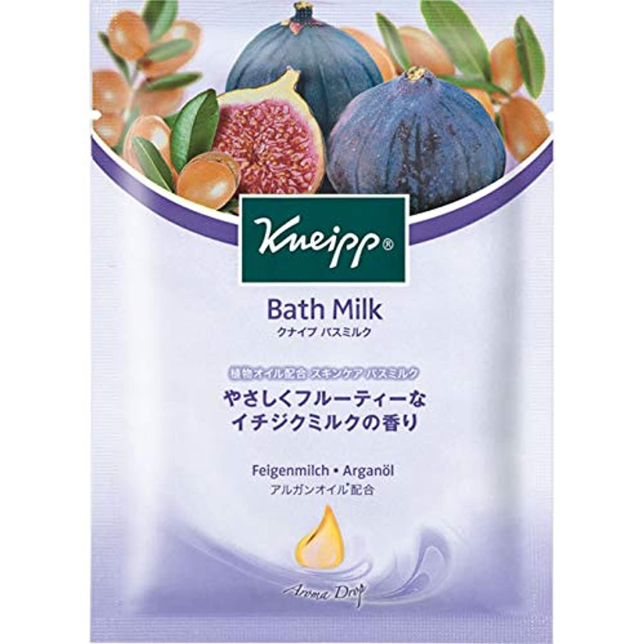 切断する丘ブルームクナイプ?ジャパン クナイプ バスミルク イチジクミルク 40ml