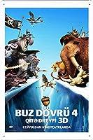 映画の金属看板 ティンサイン ポスター / Tin Sign Metal Poster of Movie Ice Age: Continental Drift #9