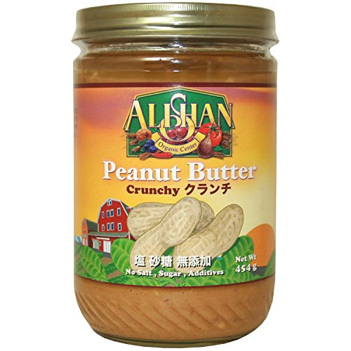 アリサン ピーナッツバタークランチ 454g