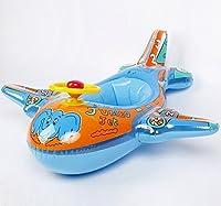 saftybayベビー水泳ボートインフレータブルスイミングプール飛行機Float