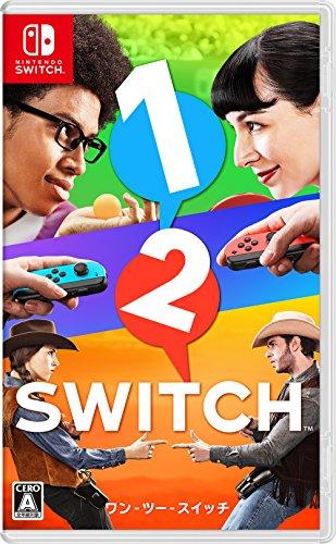 1-2-Switch 【オリジナルマリオグッズが抽選で当たるシリアルコード配信(2017/10/26-2018/1/8注文分まで)】